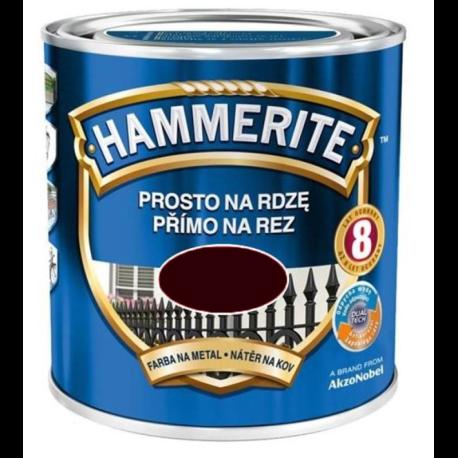 HAMMERITE POŁYSK 0,7L BRĄZ CIEMNY