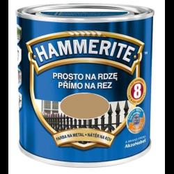 hammerite połysk 0,7l złoty