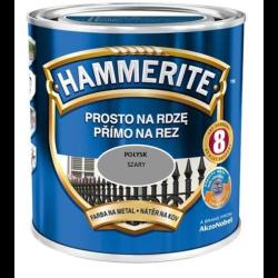 hammerite połysk 0,7l szary
