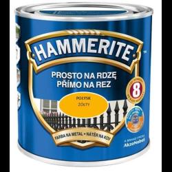 hammerite połysk 0,25l złoty