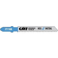 cmt zestaw 5 brzeszczotów 50x76mm rozstaw zębów 2 jt118b-5