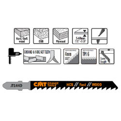 BRZESZCZOT I75 L100 ROZSTAW ZĘBÓW 4 CMT