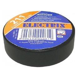 taśma electrix pcv czarny 19mm*20m