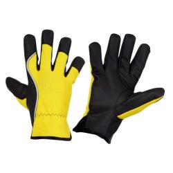 rękawice ocieplane żółte (10) lahtipro