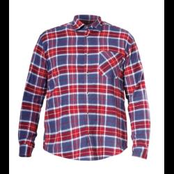 """koszula flanelowa """"m"""" czerwono-niebieska lahtipro"""