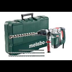 kombimłotek khe 5-40 set + 3 wiertła sds-max + walizka metabo