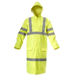 """płaszcz ostrzegawczy przeciwdeszczowy """"xxxl"""" żółty lahtipro"""