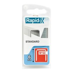 zestaw 1080 zszywek standard 53/6mm 1.08m blister rapid
