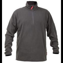 bluza polarowa krótki suwak szara 2xl lahtipro