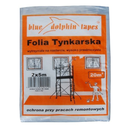 FOLIA TYNKARSKA 2MX5M BLUE DOLPHIN