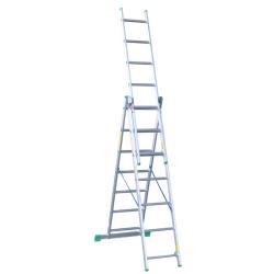 DRABINA 3-ELEMENTOWA 6.75m 3x10stopni