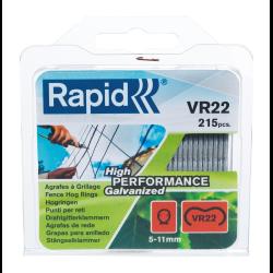 rapid zestaw 215 zszywek ogrodzeniowych vr22 galwanizowanych 40108801
