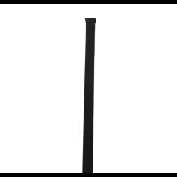 słupek czarny 50x50x2 2m