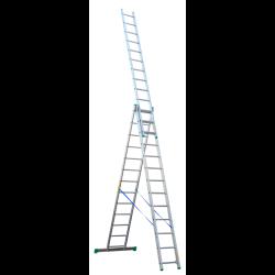 drabina 3-elementowa 4213 3x13  8,97m/3,65   drabex