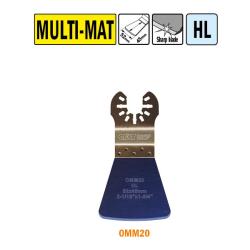 cmt brzeszczot oscylacyjny 52x45mm uchwyt uniwersalny omm20-x1