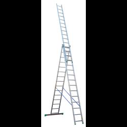 DRABINA 3-ELEMENTOWA 10,10 m Typ 4215 ( 3 X 15 )
