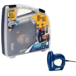 zszywacz elektryczny tapicerski e-tac walizka rapid