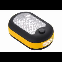 lampa warsztatowa mała żółta toya
