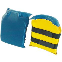 lahtipro ochraniacze stawów kolanowych z podwójnym zaczepem na rzep 52302