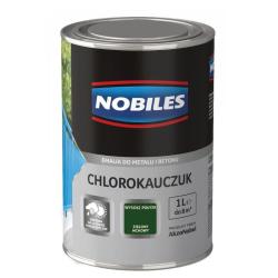 nobiles chlorokauczuk 1l ral6005 zielony mchowy