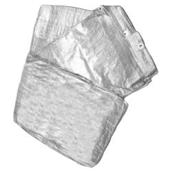 plandeka 10x15m srebrna