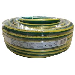 """wąż ogrodniczy """"professional"""" fi 1/2"""" 50m żółty-zielony polix"""
