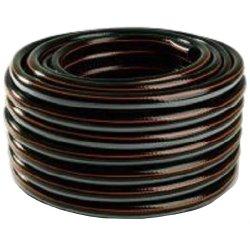 """wąż ogrodniczy """"carbon"""" fi 3/4"""" 50m + szary + 3 paski pomarańczowy polix"""