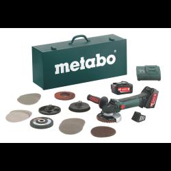 metabo szlifierka kątowa w 18 ltx 125 inox zestaw z osprzętem 600174880