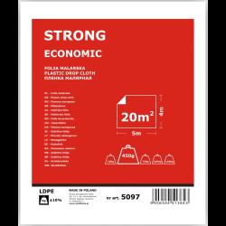 folia malarska strong economy 4x5m solid