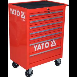 toy szafka serwisowa 7 szuflad z wyposażeniem narzędziowym yato