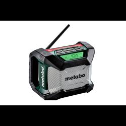 akumulatorowe radio na budowę r12-18bt metabo