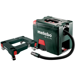 metabo akumulatorowy odkurzacz set as 18 l pc z platformą na kółkach 691060000
