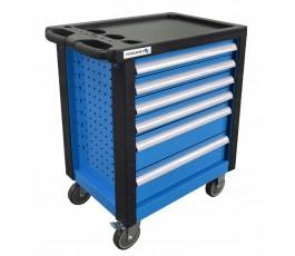 hogert szafka (wózek) z narzędziami 214 elementów ht7g056