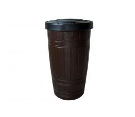 pojemnik na deszczówkę wood can 265l - brąz prosperplast