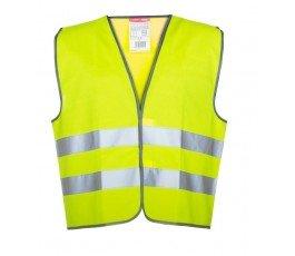 """lahtipro kamizelka ostrzegawcza żółta rozmiar """"m"""" lpko1m"""