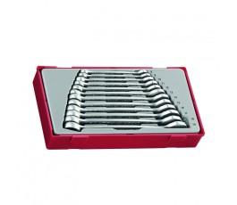 zestaw kluczy płasko-oczkowych tt8012 teng-tools