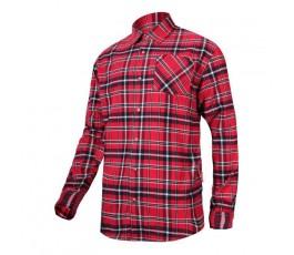 "lahtipro koszula flanelowa czerwono-granatowa 170g/m2 ""s"" l4180301"