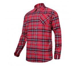 """lahtipro koszula flanelowa czerwono-granatowa 170g/m2 """"m"""" l4180302"""