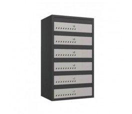 skrzynka 6-skrytkowa na listy snl16