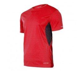 """lahtipro koszulka funkcyjna czerwono-szara rozmiar """"l"""" l4021603"""