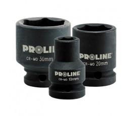 """proline nasadka udarowa 6-kątna 33mm cr-mo z chwytem 3/4"""" zr18933"""