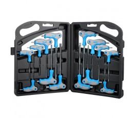 mega zestaw 14 kluczy typu t hex i torx soft touch 48600