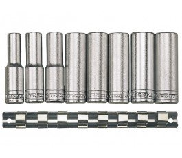 teng tools zestaw 8 nasadek długich 12-kątnych 1/2 crv 73100109