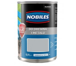 "nobiles farba alkidowa ""ftalonal"" 0,9l popielata 5180552"