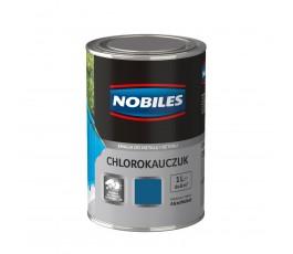 nobiles emalia chlorokauczukowa niebieska gorczycowa 1l do betonu i metalu u030510a010