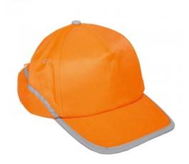 lahtipro czapka z daszkiem pomarańczowa l1010100