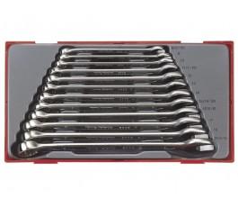 teng tools zestaw 12 kluczy płasko oczkowych 8-19mm 27560101