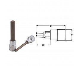 "teng tools nasadka trzpieniowa 6-kątna 6mm z chwytem 1/2"" 117450205"