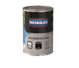 nobiles emalia chlorokauczukowa czarna 1l do betonu i metalu u030300a010
