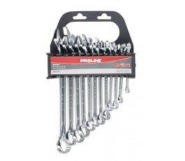 proline zestaw 12 kluczy oczkowo-płaskich 6-22mm 35312